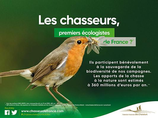 Les chasseurs, premiers écologistes de France