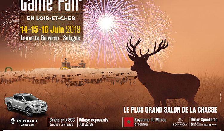 14, 15 et 16 juin 2019 : Game Fair