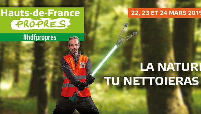 Du 22 au 24 mars : Hauts-de-France propres