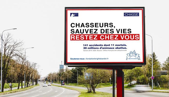 Campagne d'affichage scandaleuse
